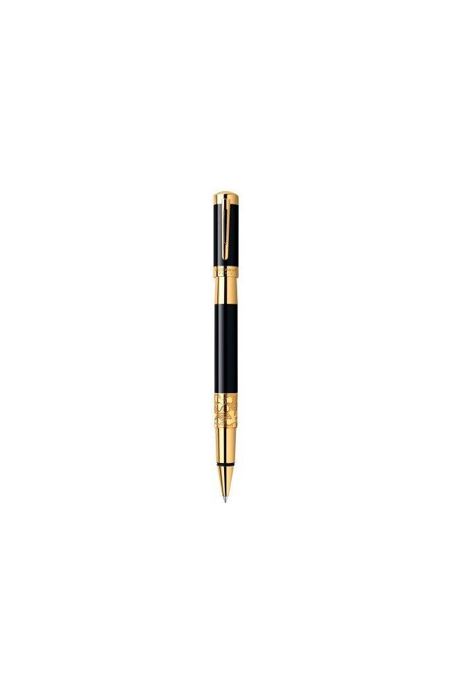 Ручка роллер Waterman ELEGANCE Black GT RB 41 041, Корпус - Черный, Франция