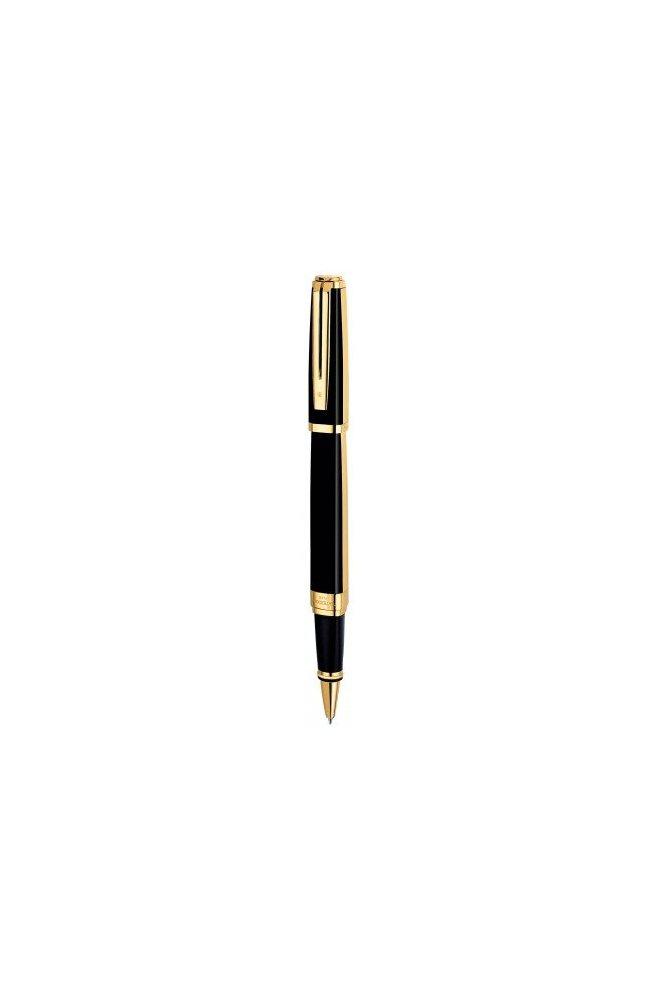 Ручка роллер Waterman EXCEPTION Night/Day Gold GT RB 41 025, Корпус - Черный, Франция