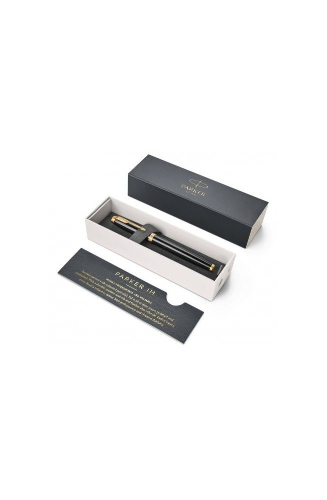 Чорнильна ручка Parker IM 17 Black GT FP F 22 011