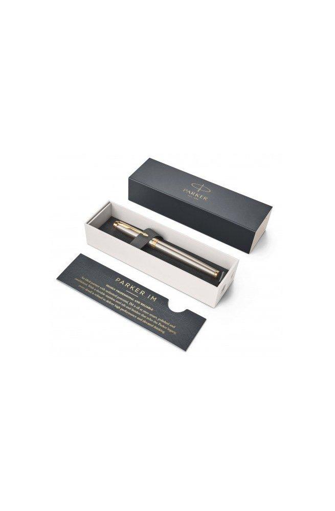 Перьевая ручка Parker IM 17 Brushed Metal GT FP F 22 211, Корпус - Металлический, Франция