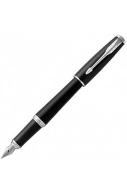 Перьевая ручка Parker URBAN 17 Muted Black CT FP F 30111