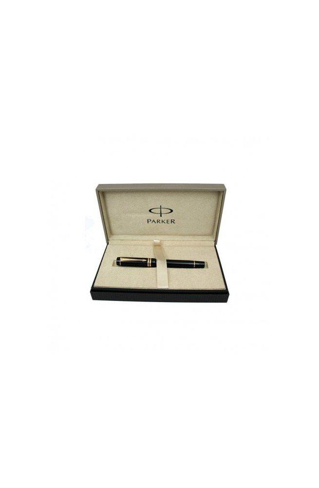 Перьевая ручка Parker Duofold Black New FP 97 012Ч, Корпус - Черный, Англия