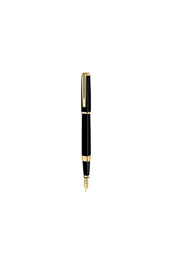 Чорнильна ручка Waterman EXCEPTION Slim Black GT FP 11 028