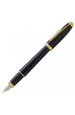 Перьевая ручка ST Dupont Olympio Black Lacquer GP FP Du451274n
