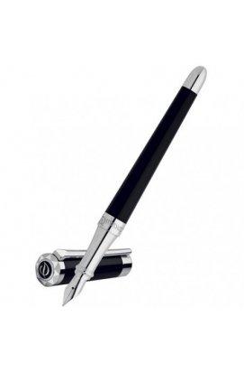 Перьевая ручка ST Dupont Liberte Black PP FP Du460674, Корпус - Черный, Франция