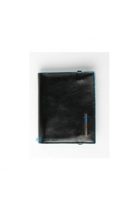 Кредитница Piquadro Blue Square для 20 кред. карт (9х10,5) PP1395B2_N, Италия