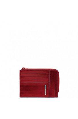 Кредитница PIQUADRO красный BL SQUARE/Red PU1243B2_R, Италия