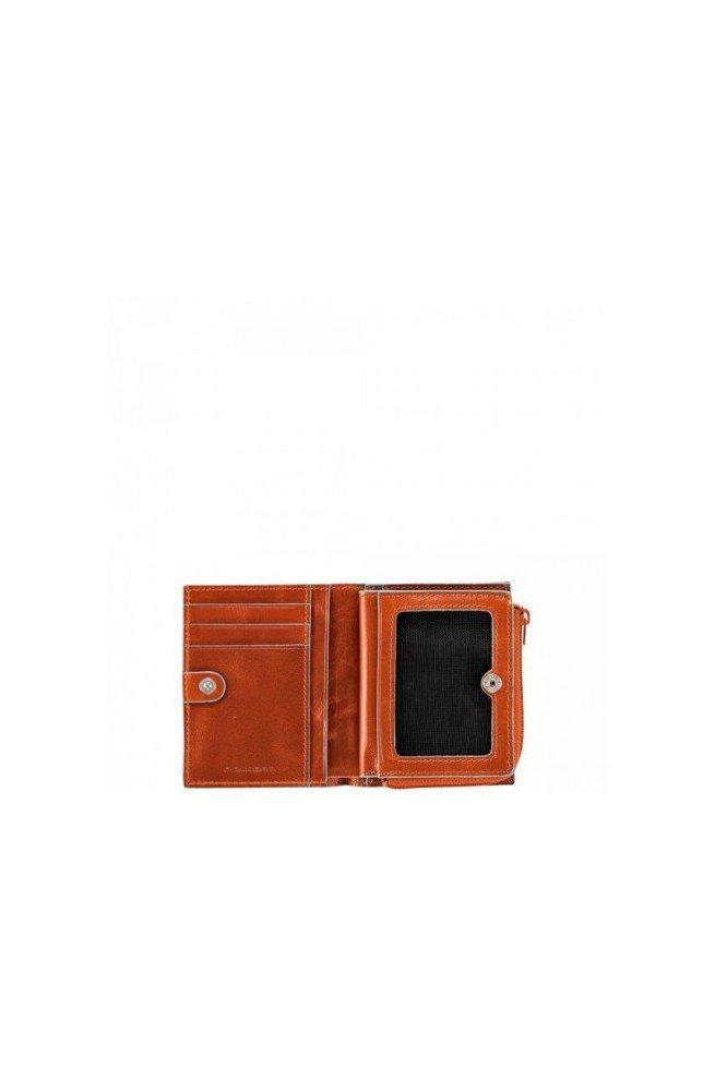 Кредитница Piquadro на молнии BL SQUARE/Orange PP1351B2_AR, Италия