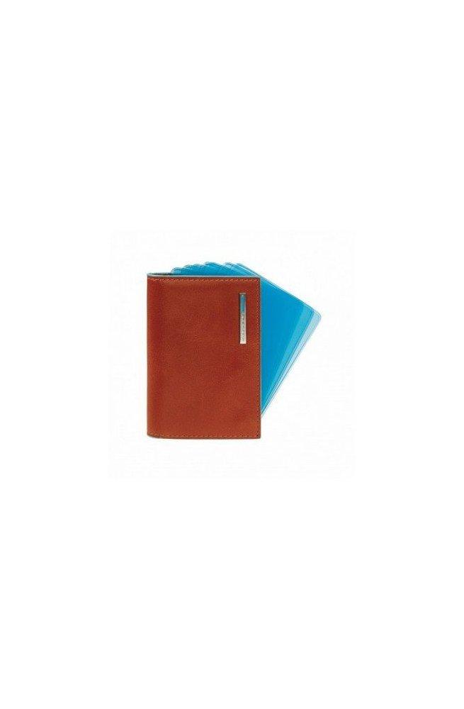 Кредитница Piquadro Blue Square (7,5х10) PP1661B2_AR, Италия