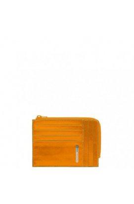 Кредитница PIQUADRO желтый BL SQUARE/Yellow PU1243B2_G, Италия