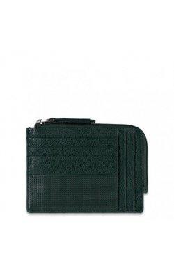 Кредитница PIQUADRO зелёный LASZLO/Green PU1243W64_VE