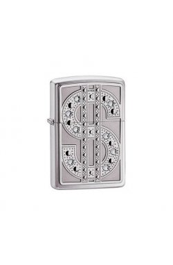 Зажигалка Zippo Swarovski Bling Emblem High Polish Chrome Zp20904