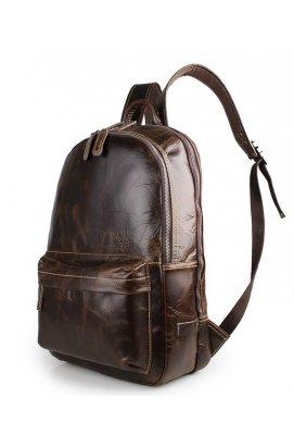 Рюкзак Tiding Bag 7273Q - Натуральная кожа, Коричневый