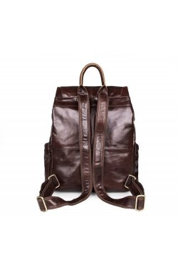 Рюкзак кожаный TIDING BAG 7249C