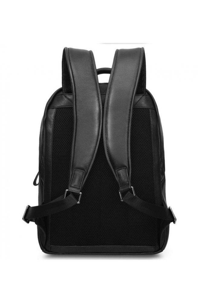 Рюкзак Tiding Bag B3-1663A - Натуральная кожа, черный