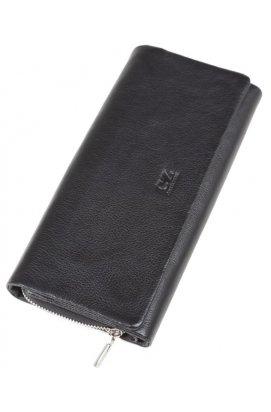 Клатч Horton Collection TR5M-3998 - Натуральная кожа, черный