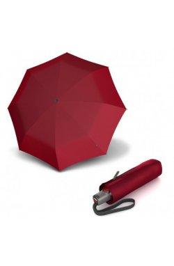 Зонт складной Knirps T.100 Small Duomatic Dark Red UV Protection Kn9531001510