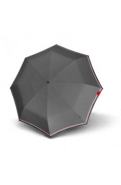 Зонт складной Knirps T.100 Small Duomatic Id Grey Kn9531004031