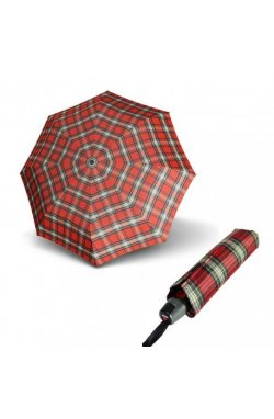 Складной зонт Knirps T.200 Medium Duomatic Check Red Kn9532005190