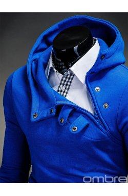 Толстовка чоловіча з капюшоном PACO - синя