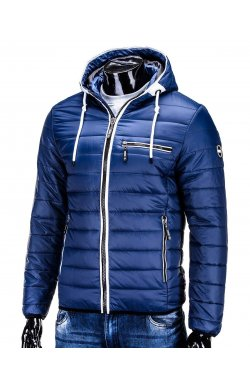Куртка мужская. Цвет темно-синий.