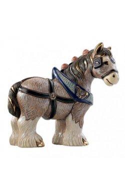 Фигурка De Rosa Rinconada Emerald Лошадь Золотая Dr1026-38