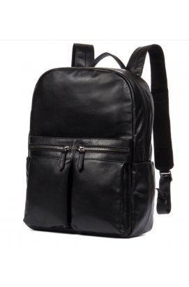 Рюкзак Tiding Bag NM17-1281-3A - Натуральная кожа, чёрный