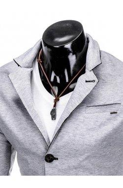Піджак чоловічий кежуал M90 - сірий