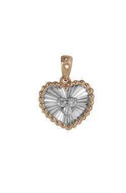 Кулон из золота с бриллиантами (1611907)