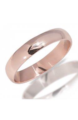 Кольцо из красного золота