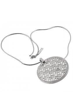 Кулон из серебра с куб. циркониями (078173)
