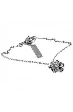 Колье из серебра с бриллиантами (131102)
