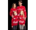 Семейные свитера с оленями