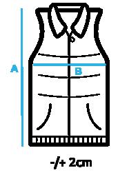 Таблица размеров мужских безрукавок