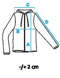 Таблица размеров мужских курток