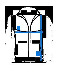 2d76fcef91f Безрукавка застегивается на молнию. Такая модель отлично гармонирует с  джинсами